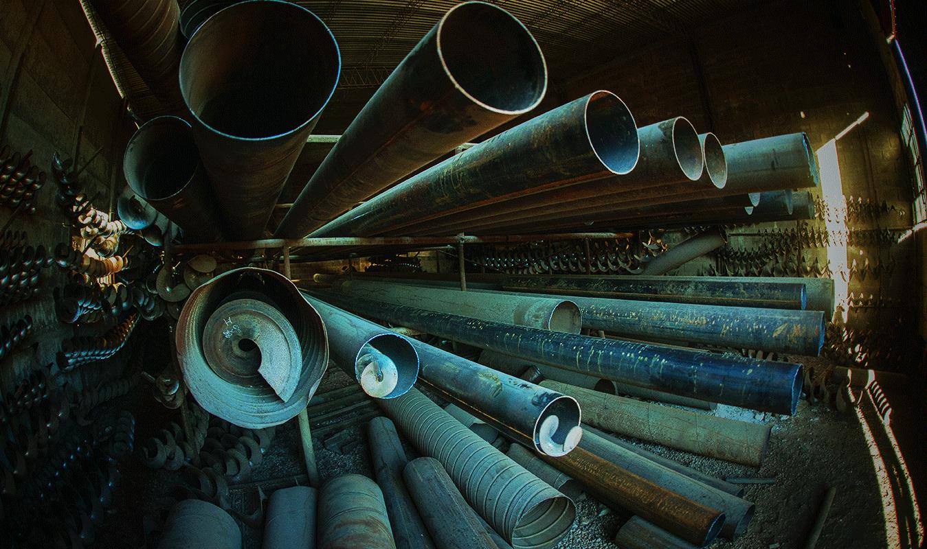 chapas y tubos